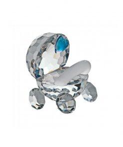 Barnevogn Lille barnevogn i tjekkisk krystal med blåt