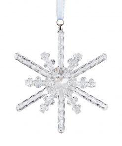 krystalstjerne juleophæng